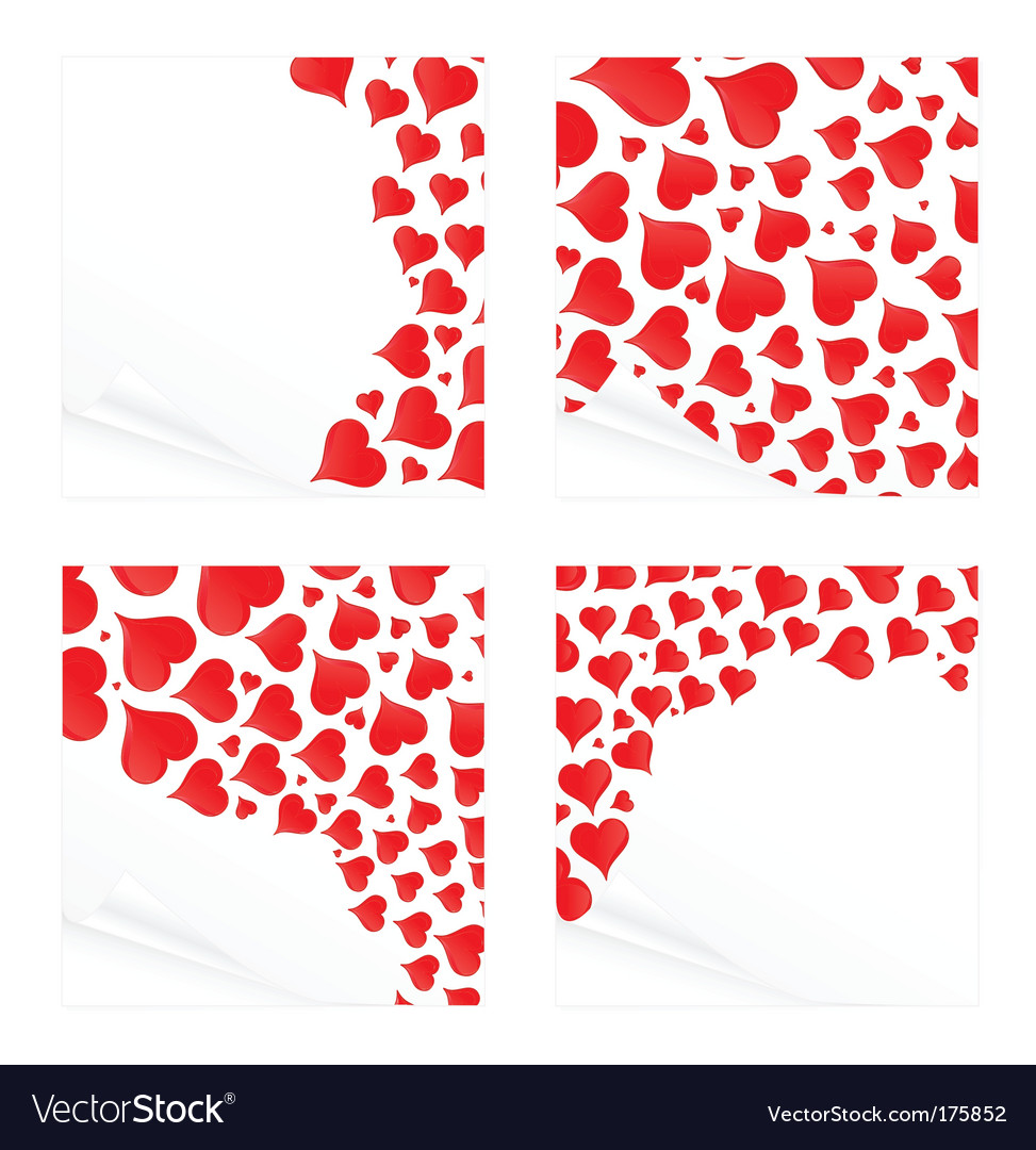 Love reminder notes vector