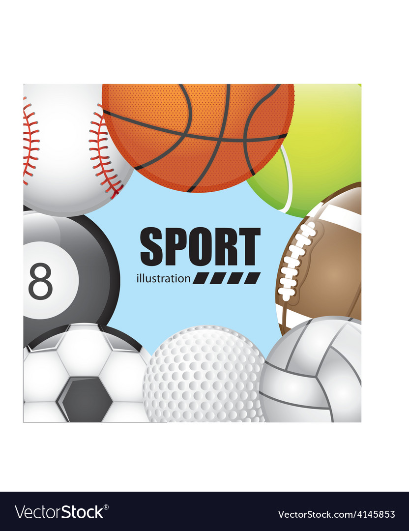 Balls sport vector