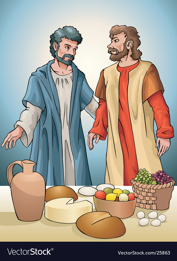 Christian community vector