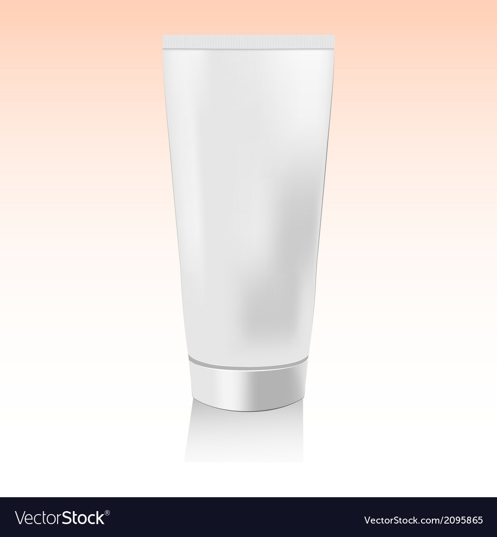 Cosmetic product2 packaging vector