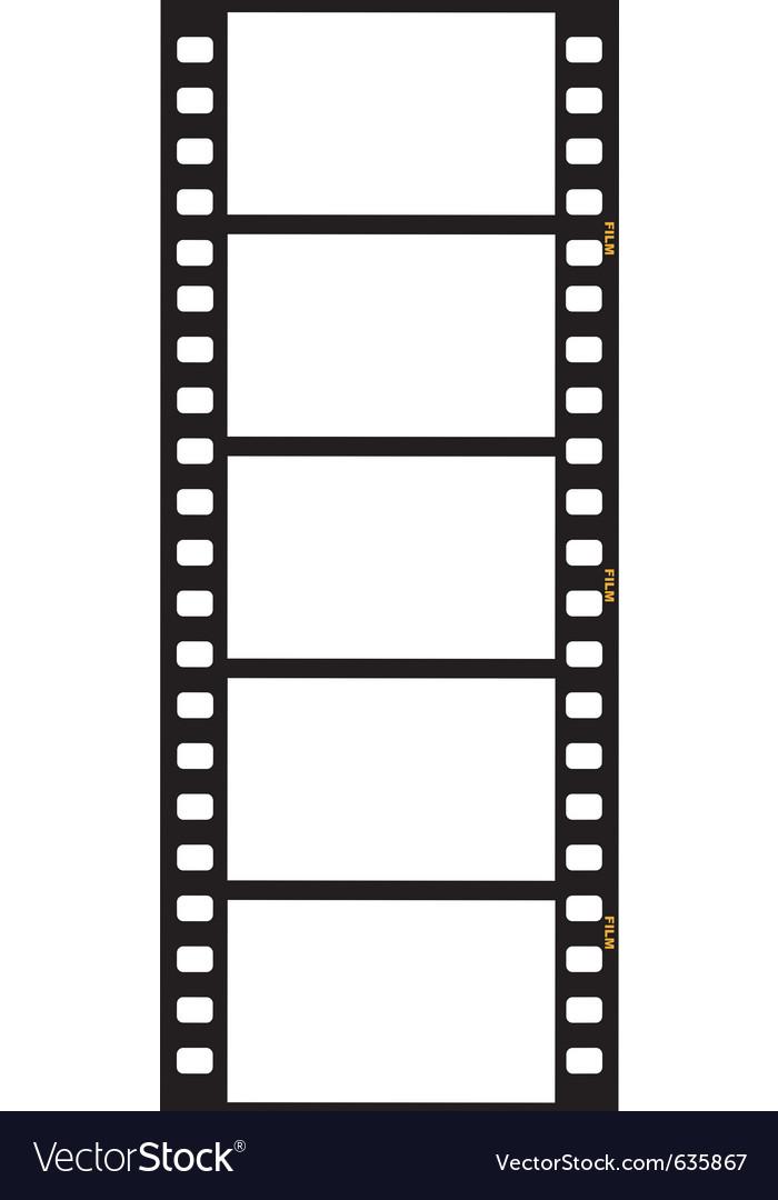 Movie film vector