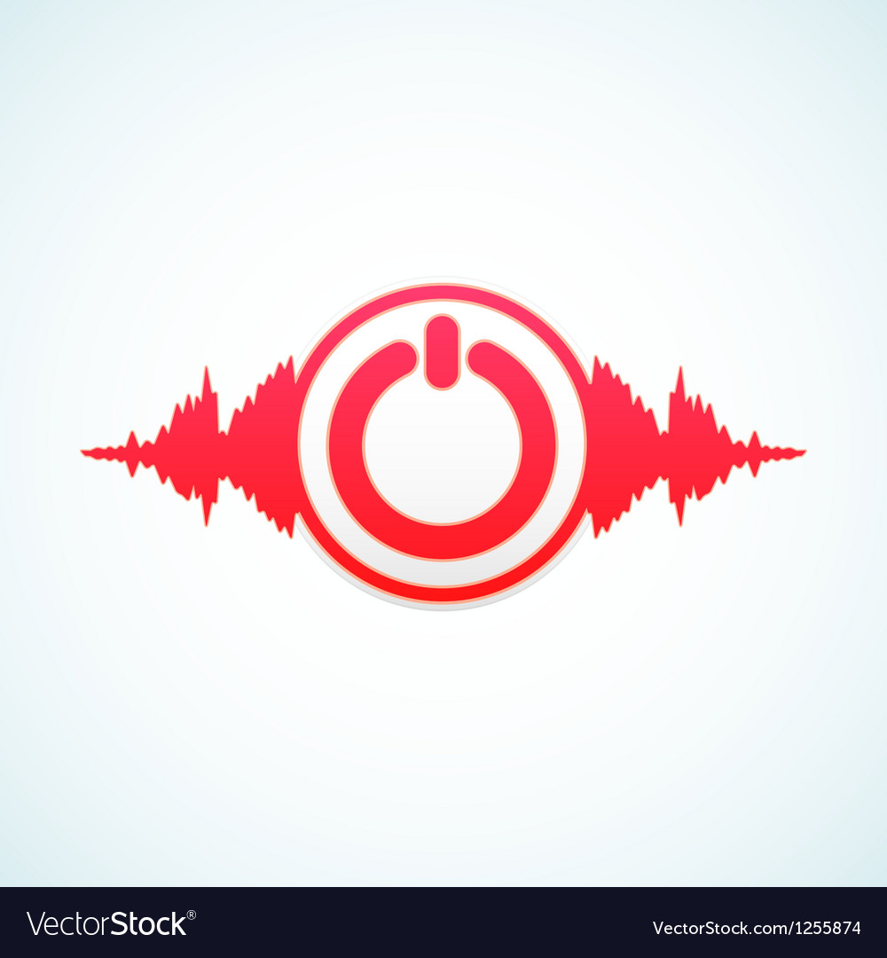 Turn off the music vector