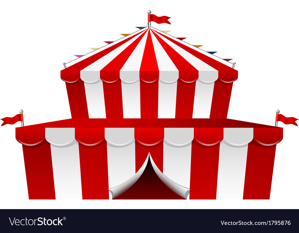 Big top circus vector