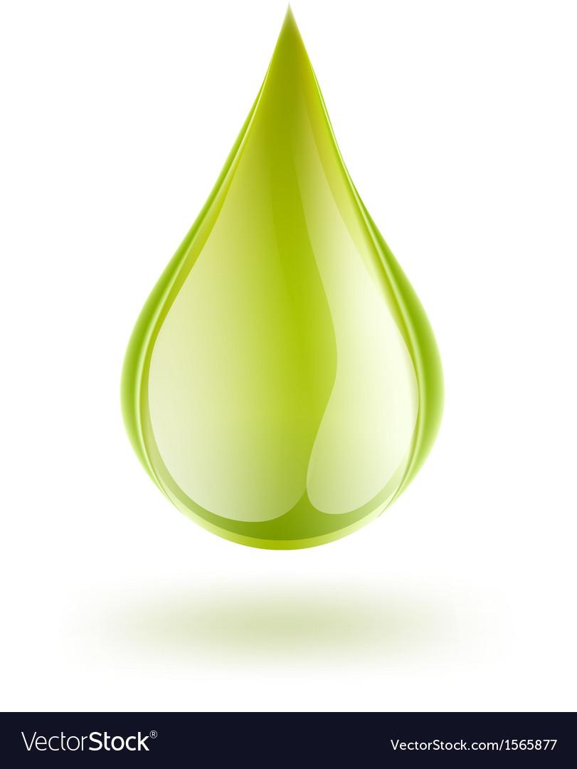 Petrol drop vector