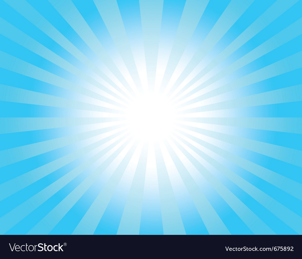 Light rays vector