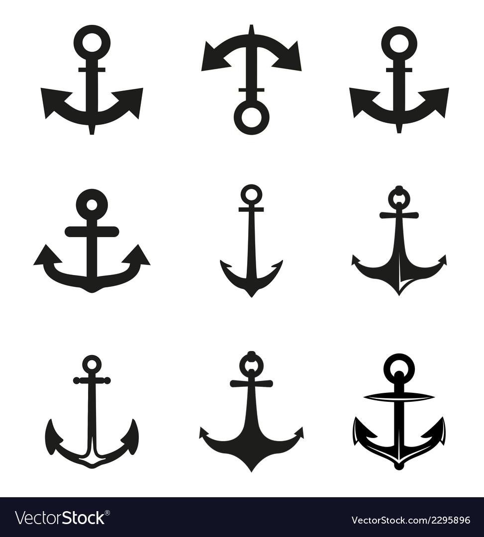 Set of anchor vector