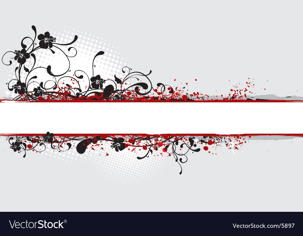 Banner illustration with copy space vector
