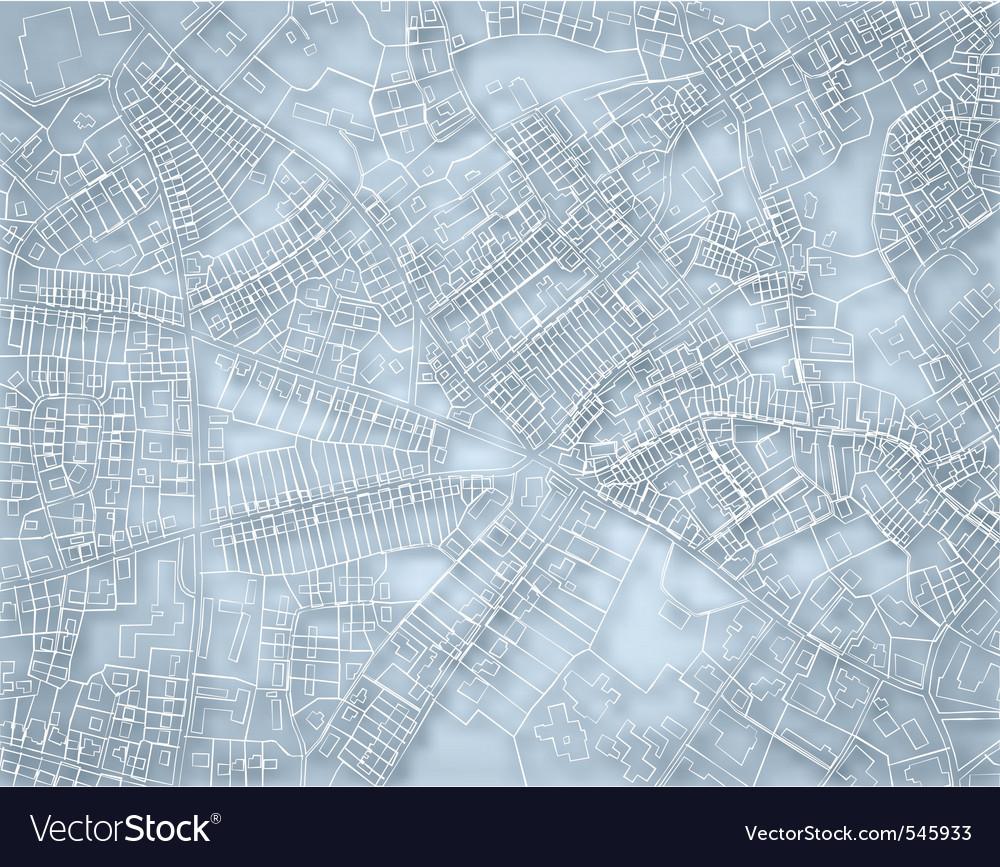 Rough blue map vector