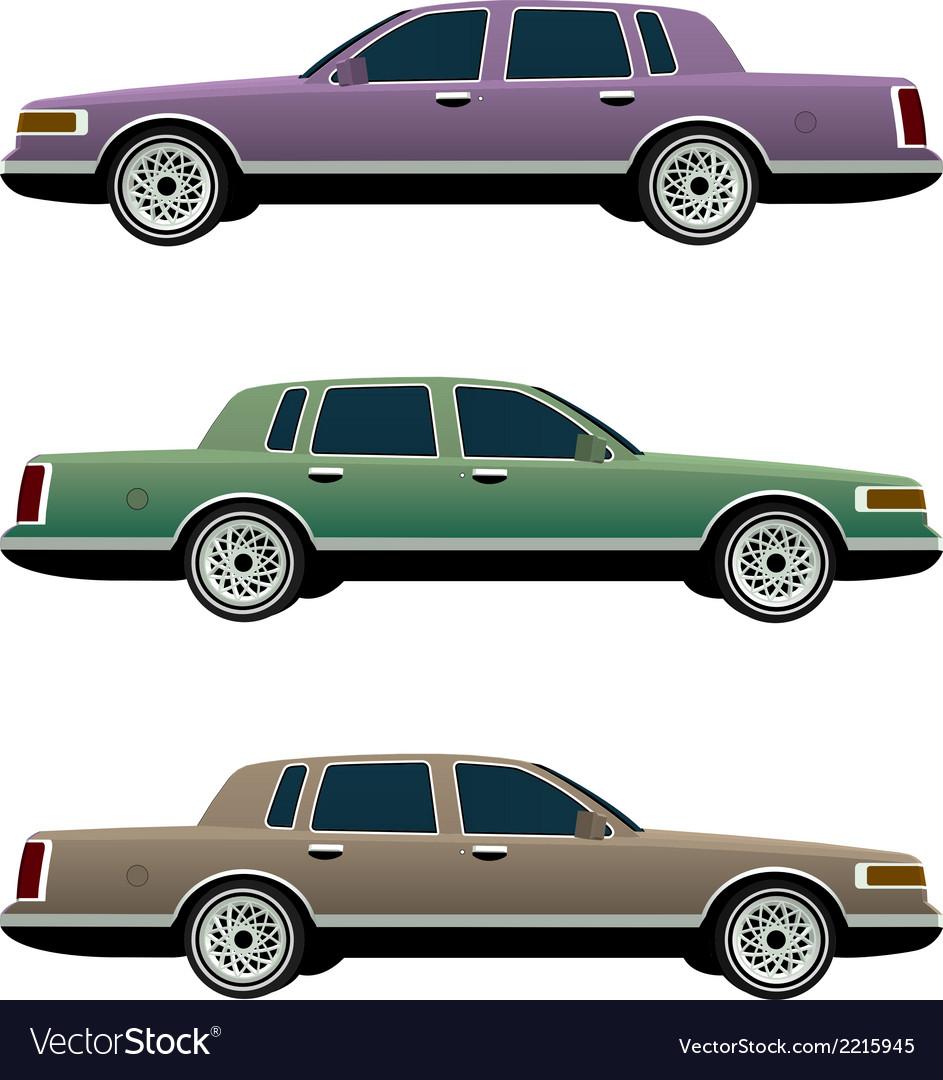 Car model 1 vector