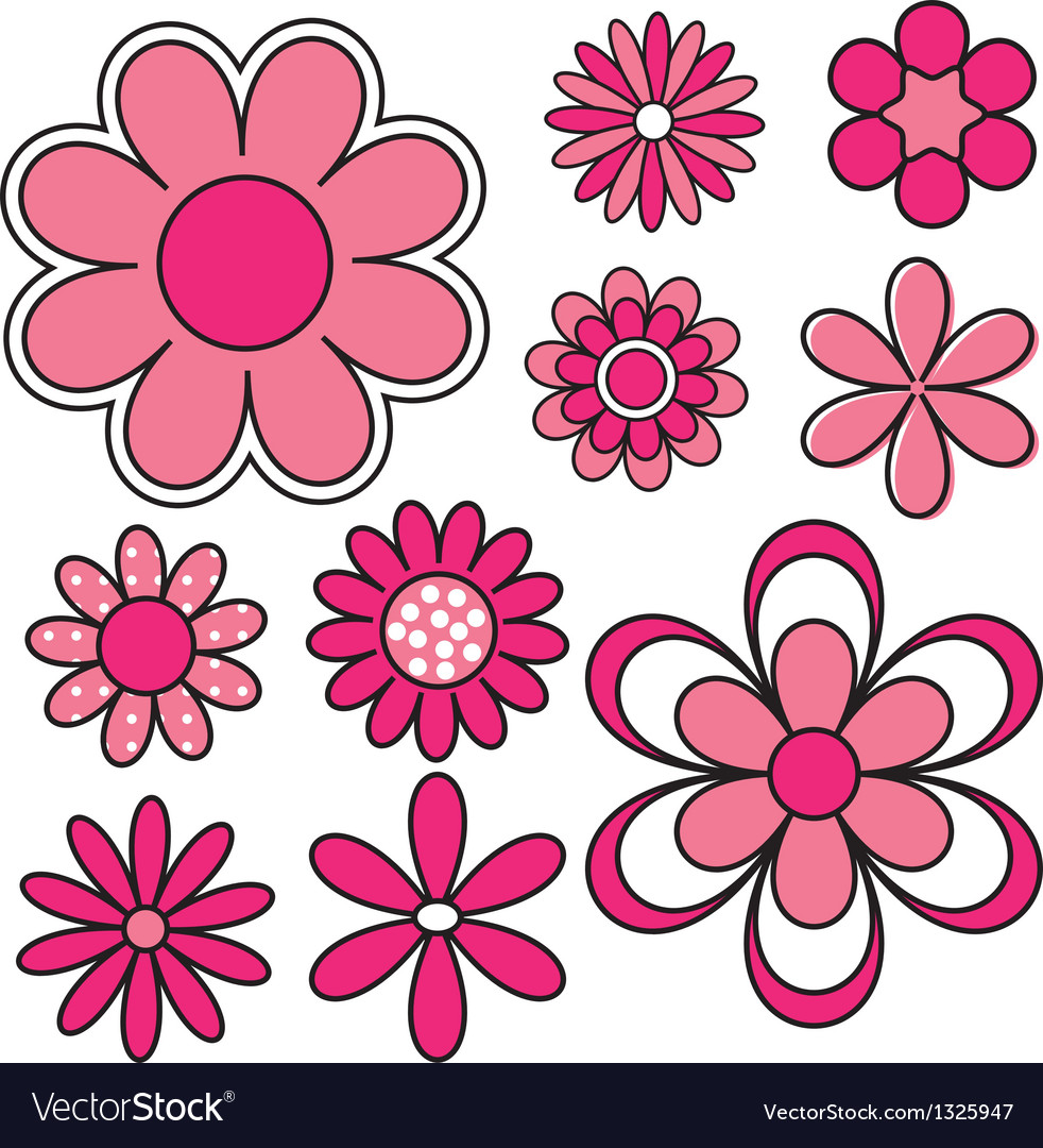 Flower power vector