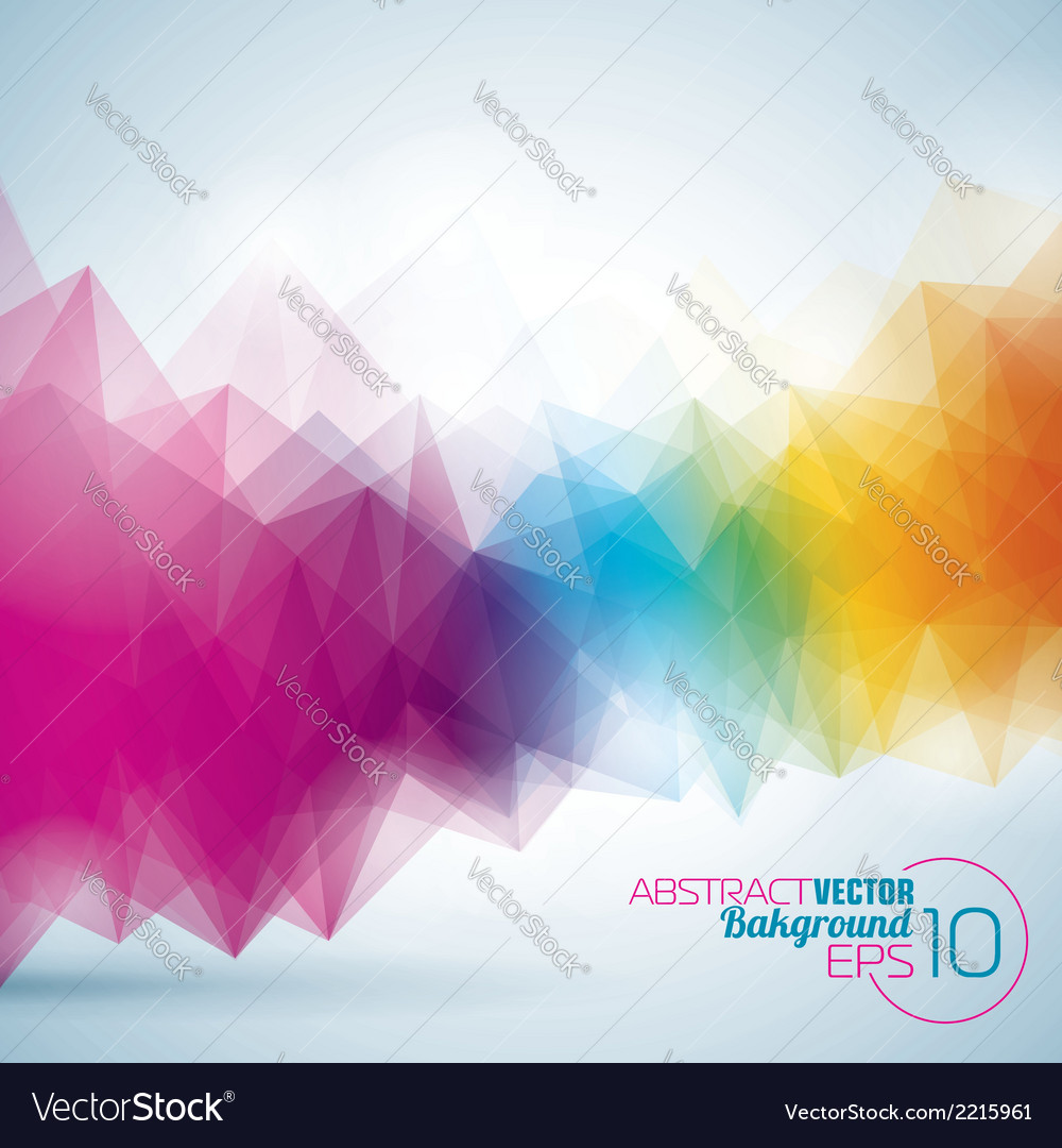 Abstract geometric background design vector