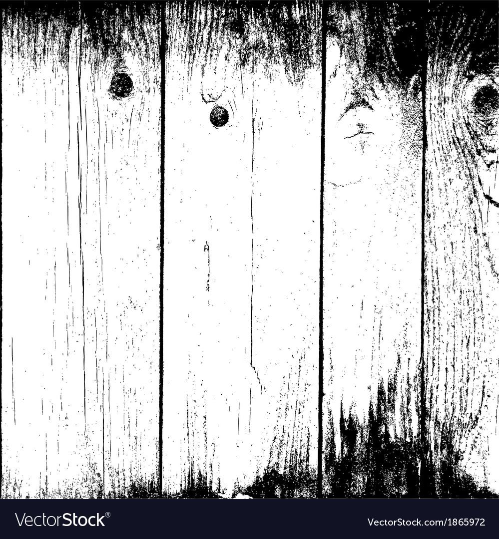 Old planks background vector