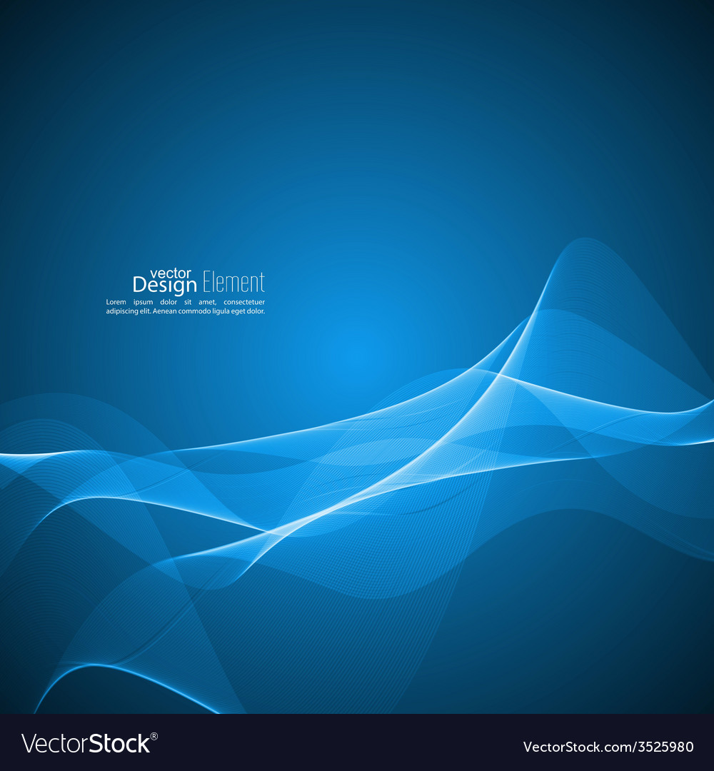 Abstract background with soft lines vector