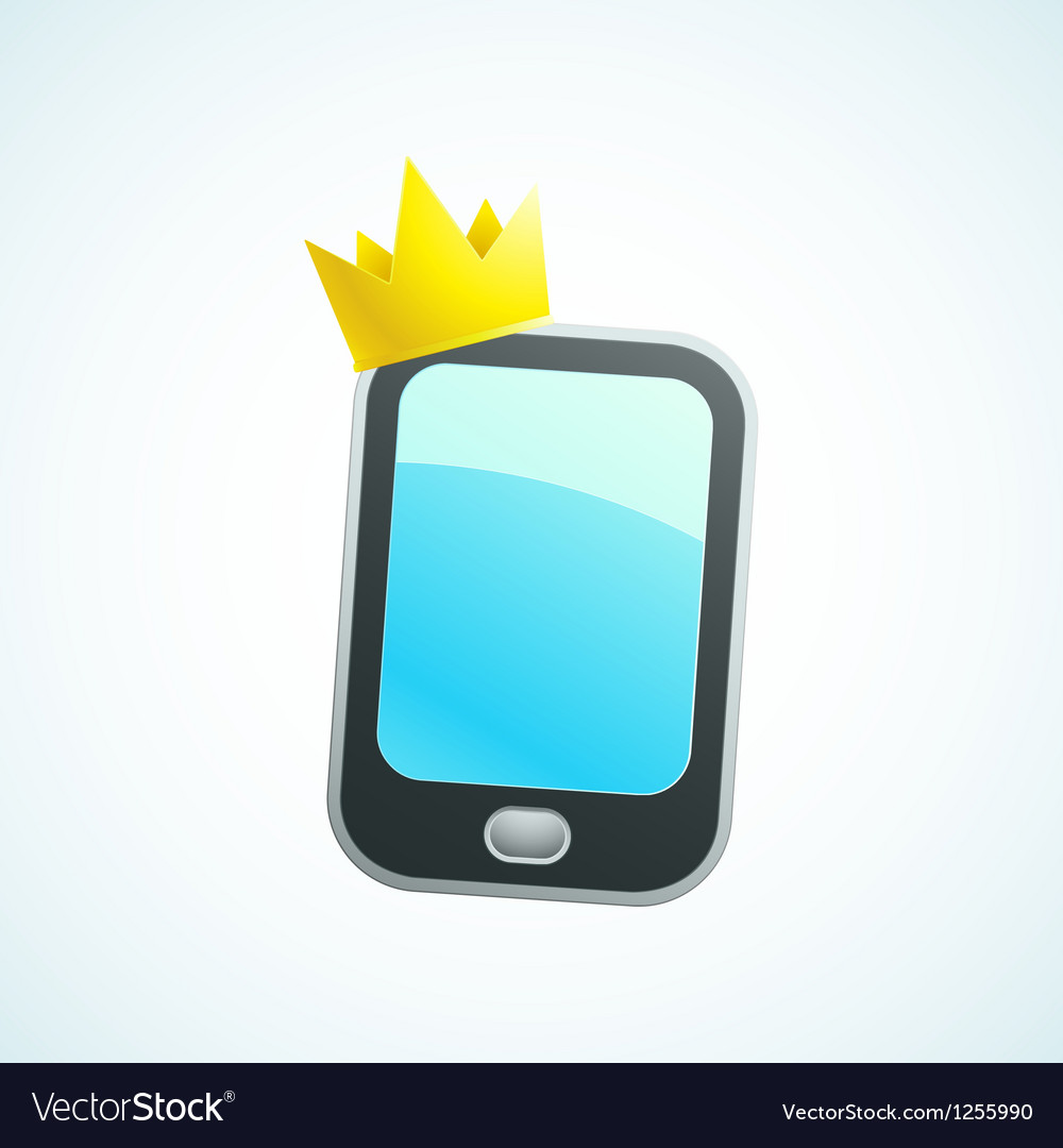 King phone vector