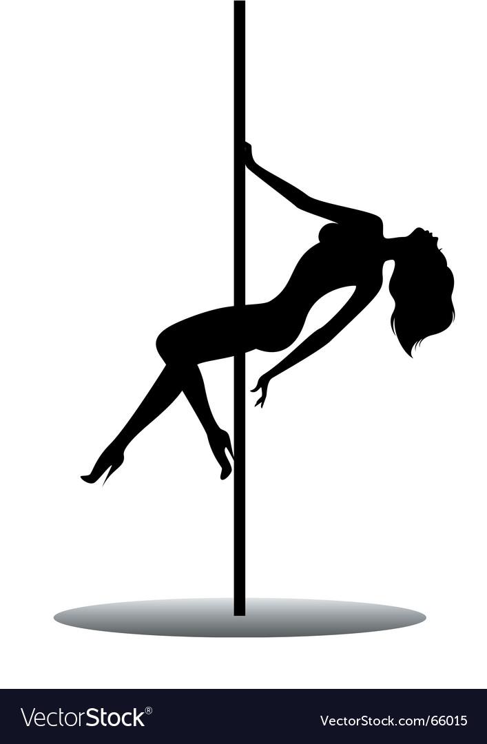 Women dancing vector