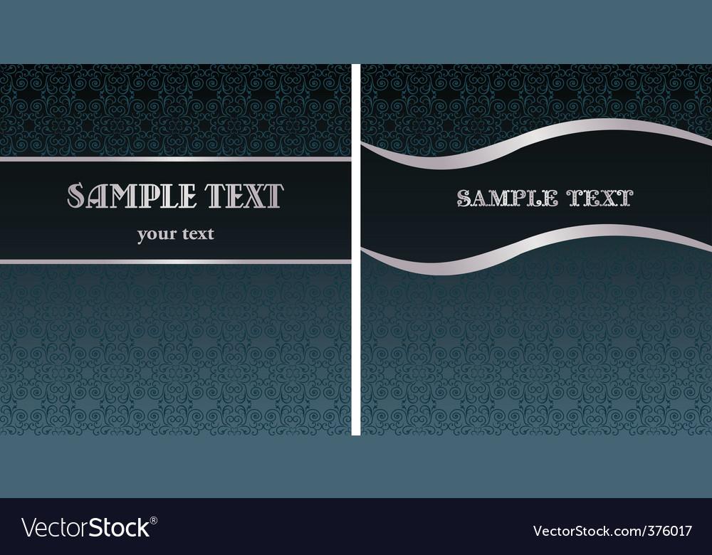 Royal vintage template vector