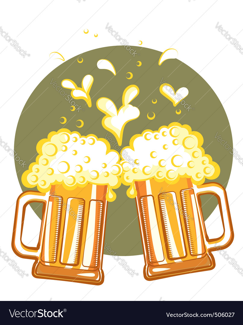 S of beervector color symbol of illustration vector