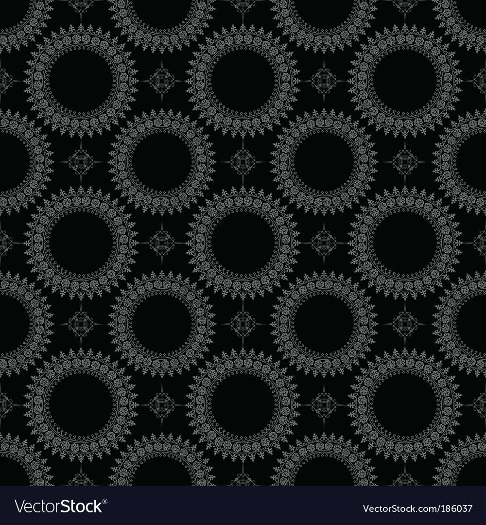 Seamless circle pattern vector