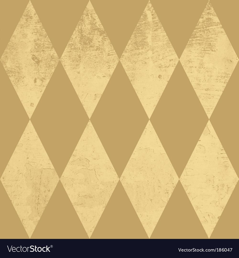 Diamond pattern vector