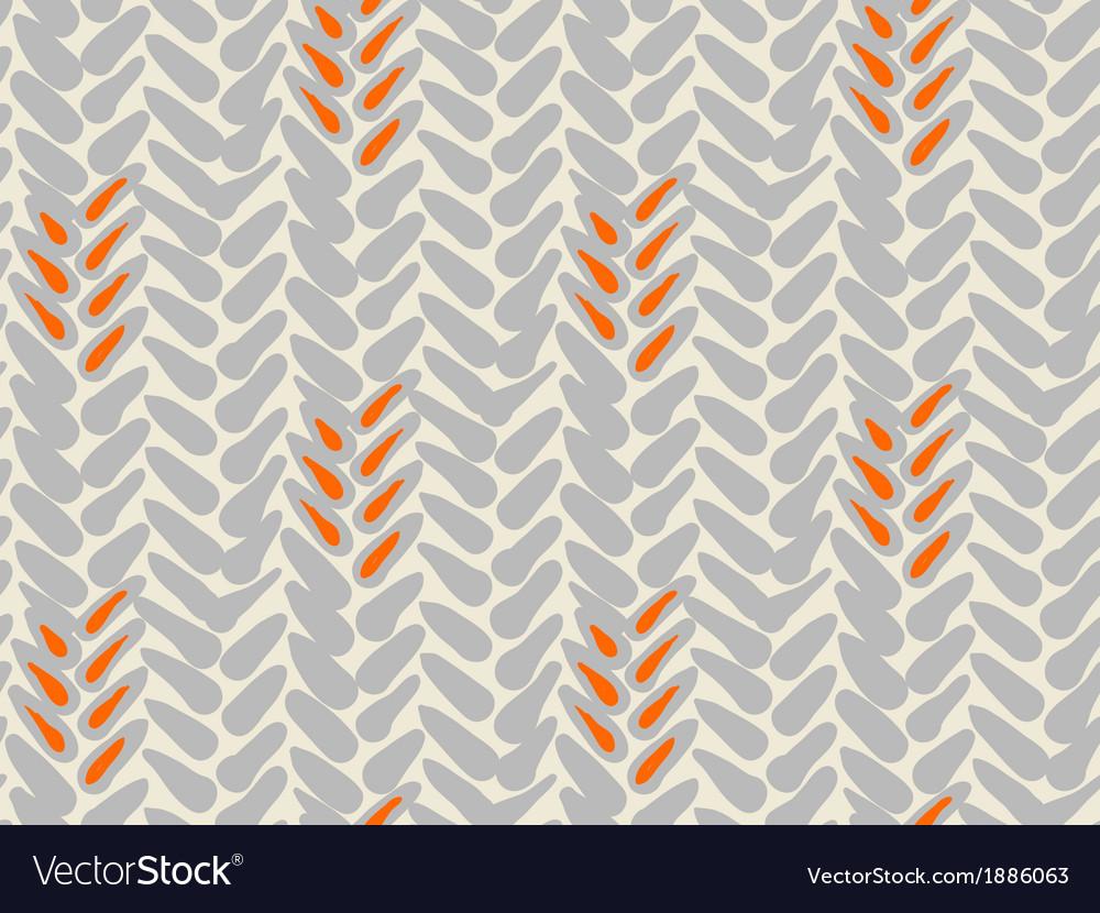 Simple pattern with bold brushstrokes vector