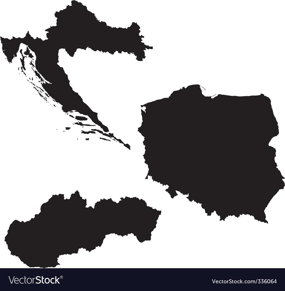 Eastern europe vector