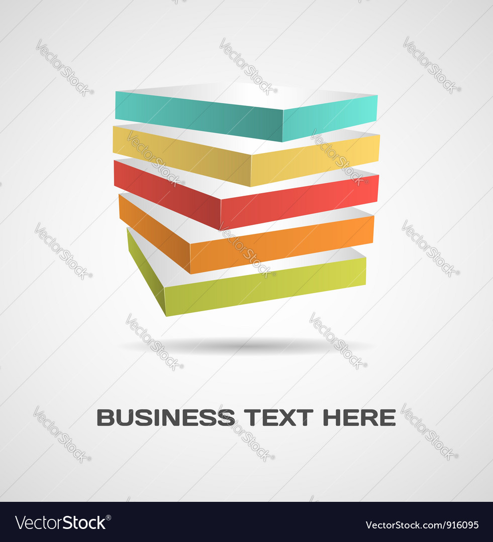 Abstract design concept vector
