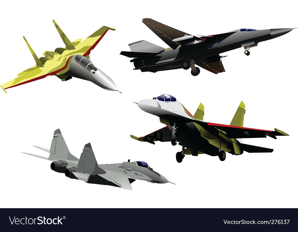 Military air forces vector