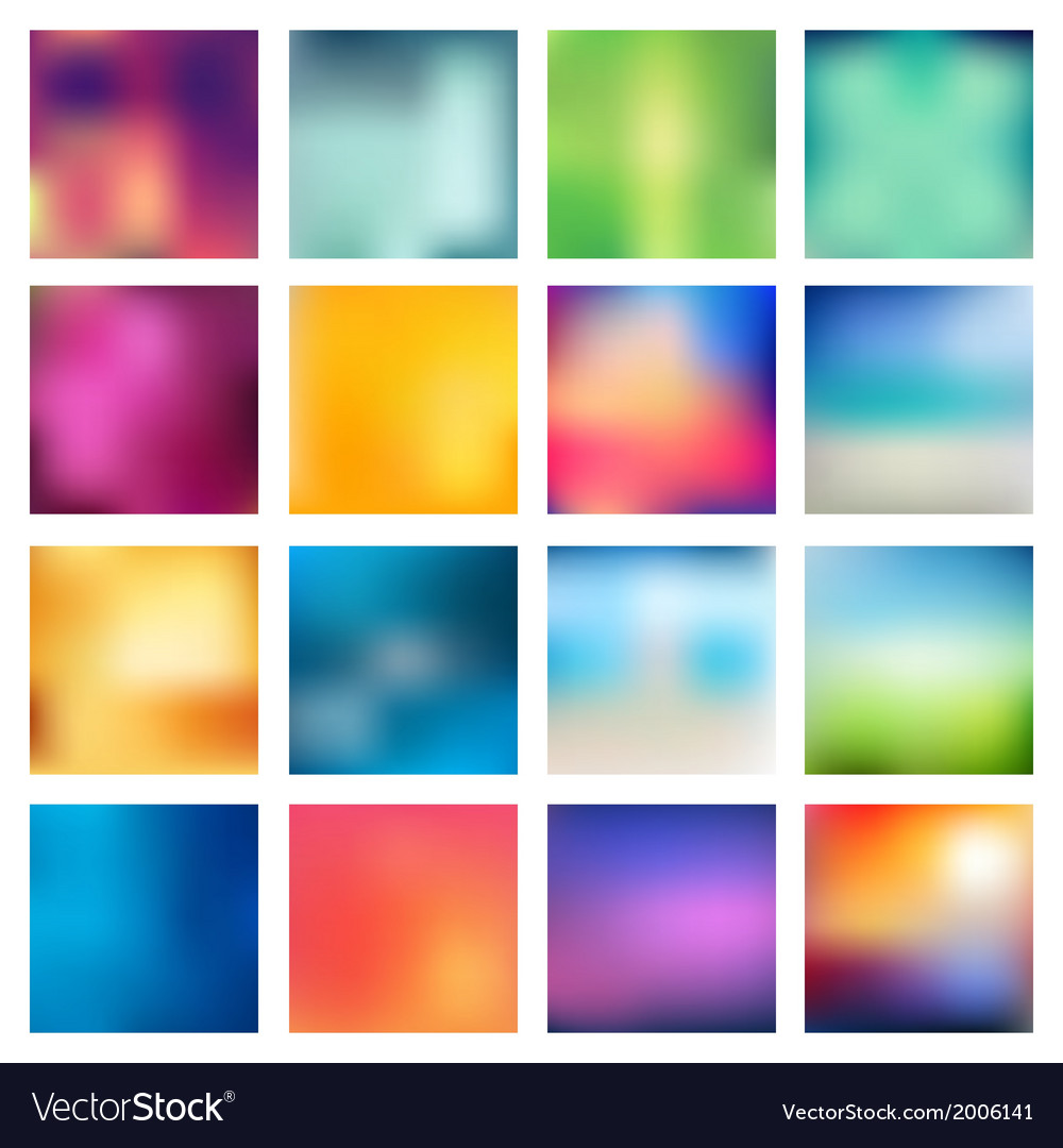 Abstract blurred blur backgrounds vector