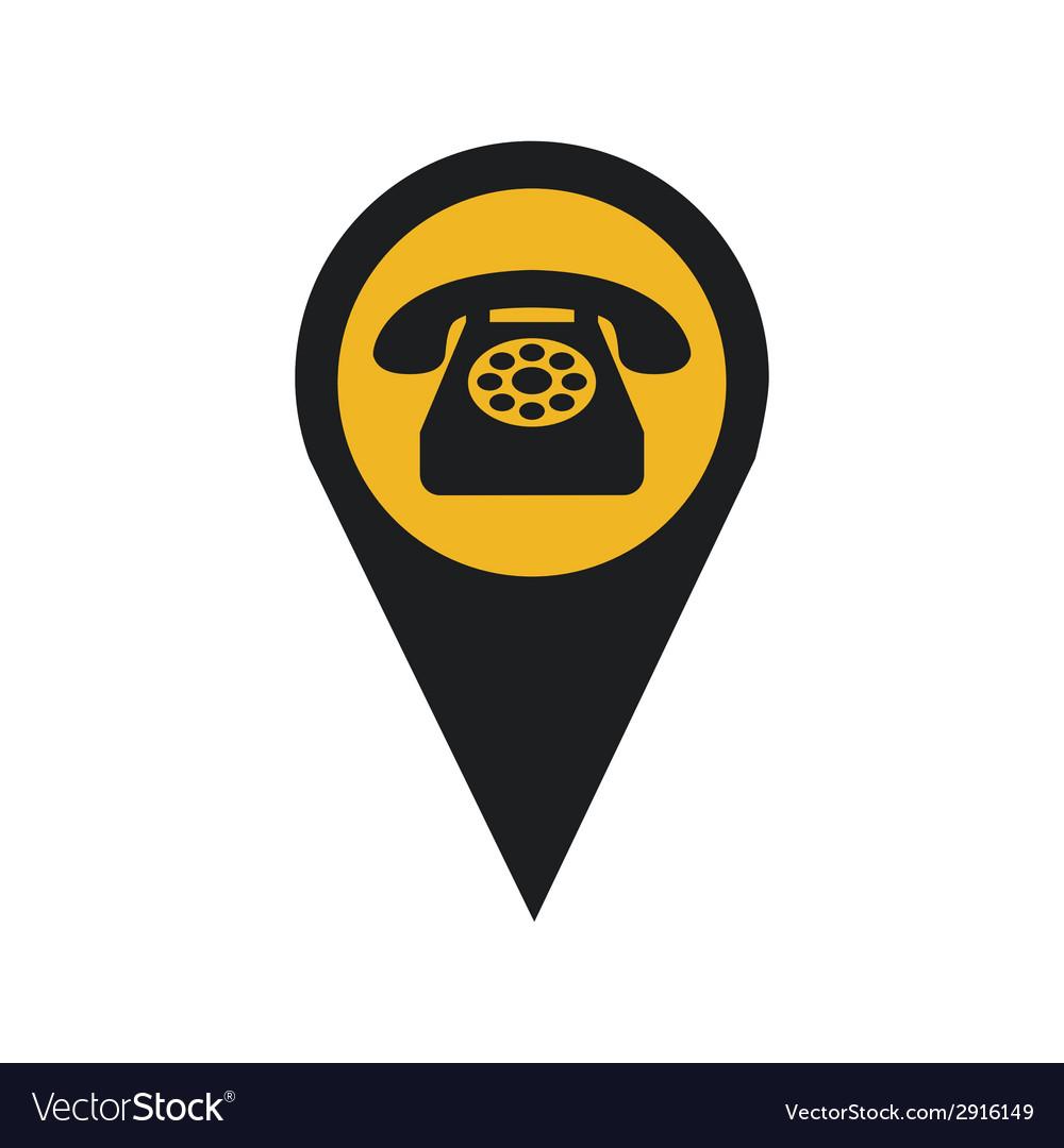 Telephone signal vector