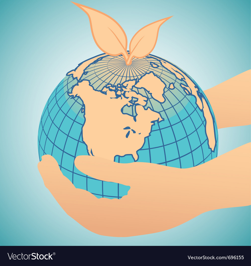 Geography globe vector