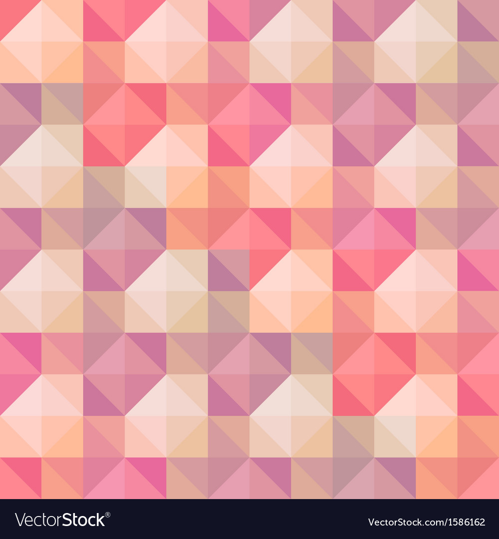 Abstract geometric shapes pattern vector