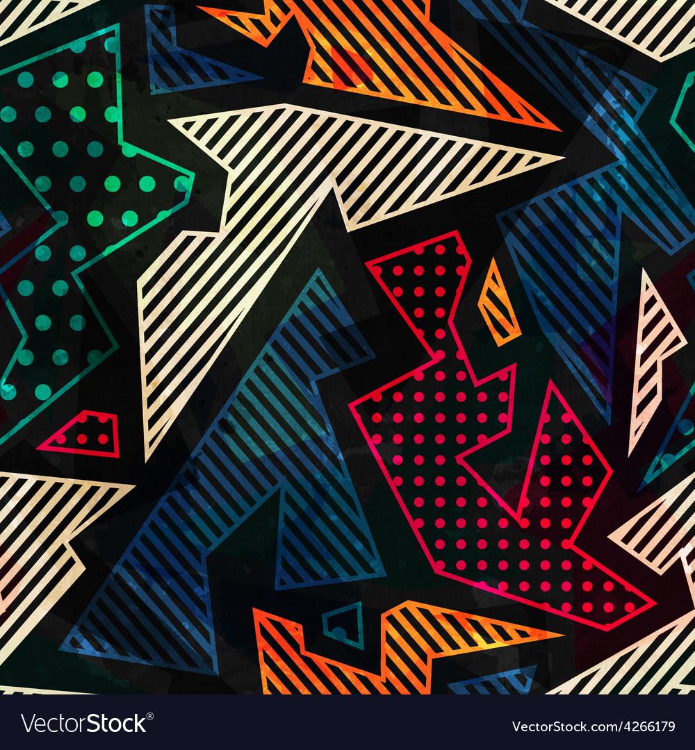 Retro cloth seamless pattern vector
