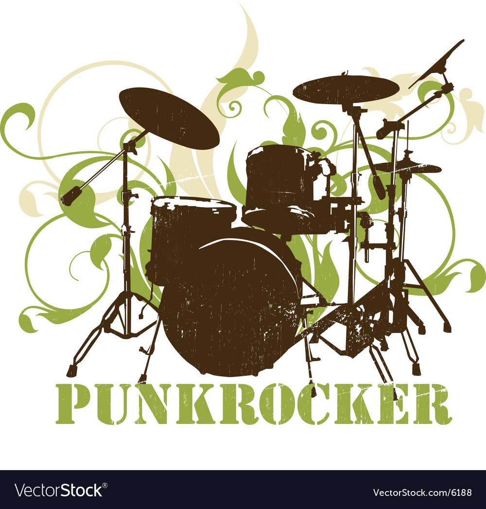 Urban music graphic vector