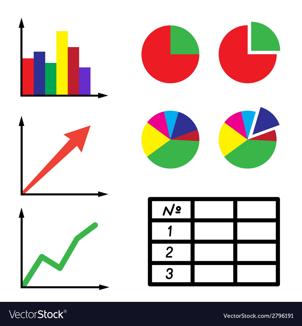 Set of information icons vector