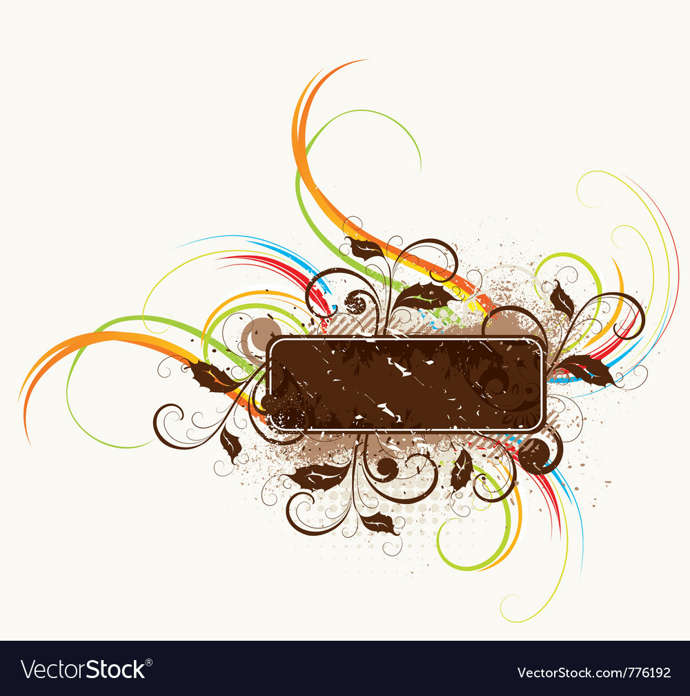 Fantasy abstract vector