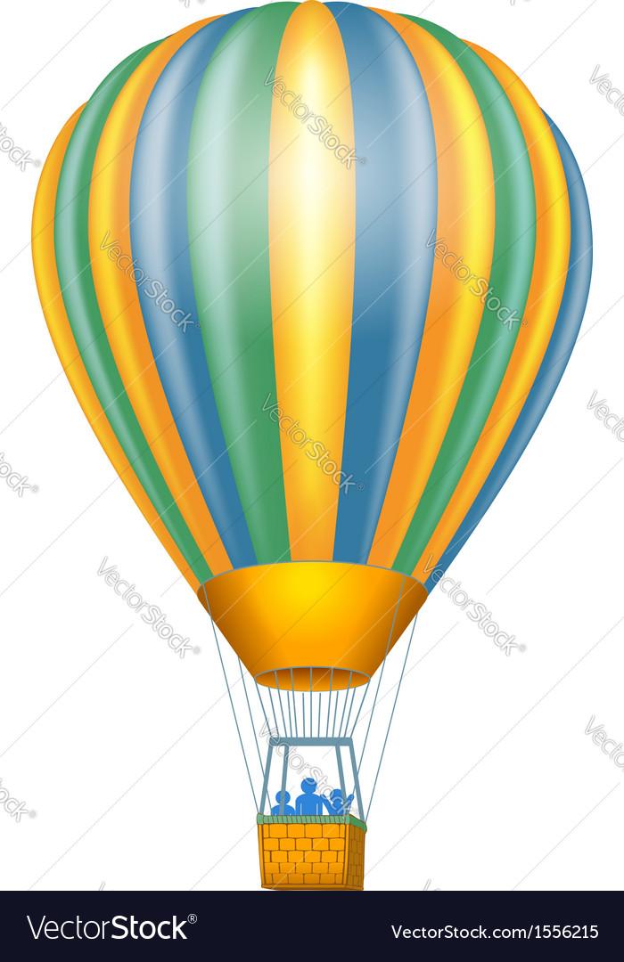 Air baloon vector