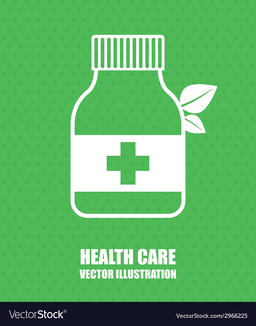 Health care design vector