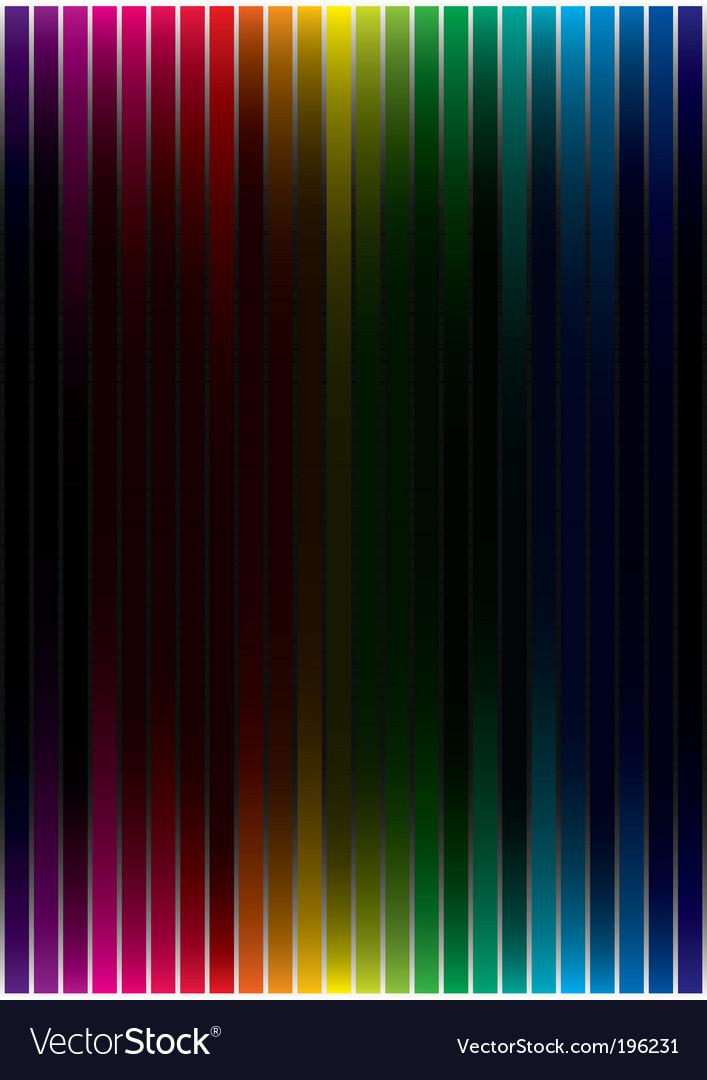 Spectrum background vector