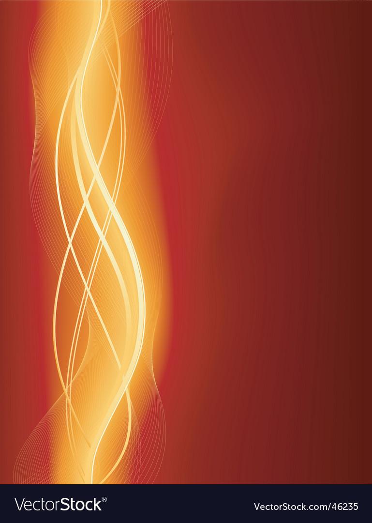 Glowing wave vector