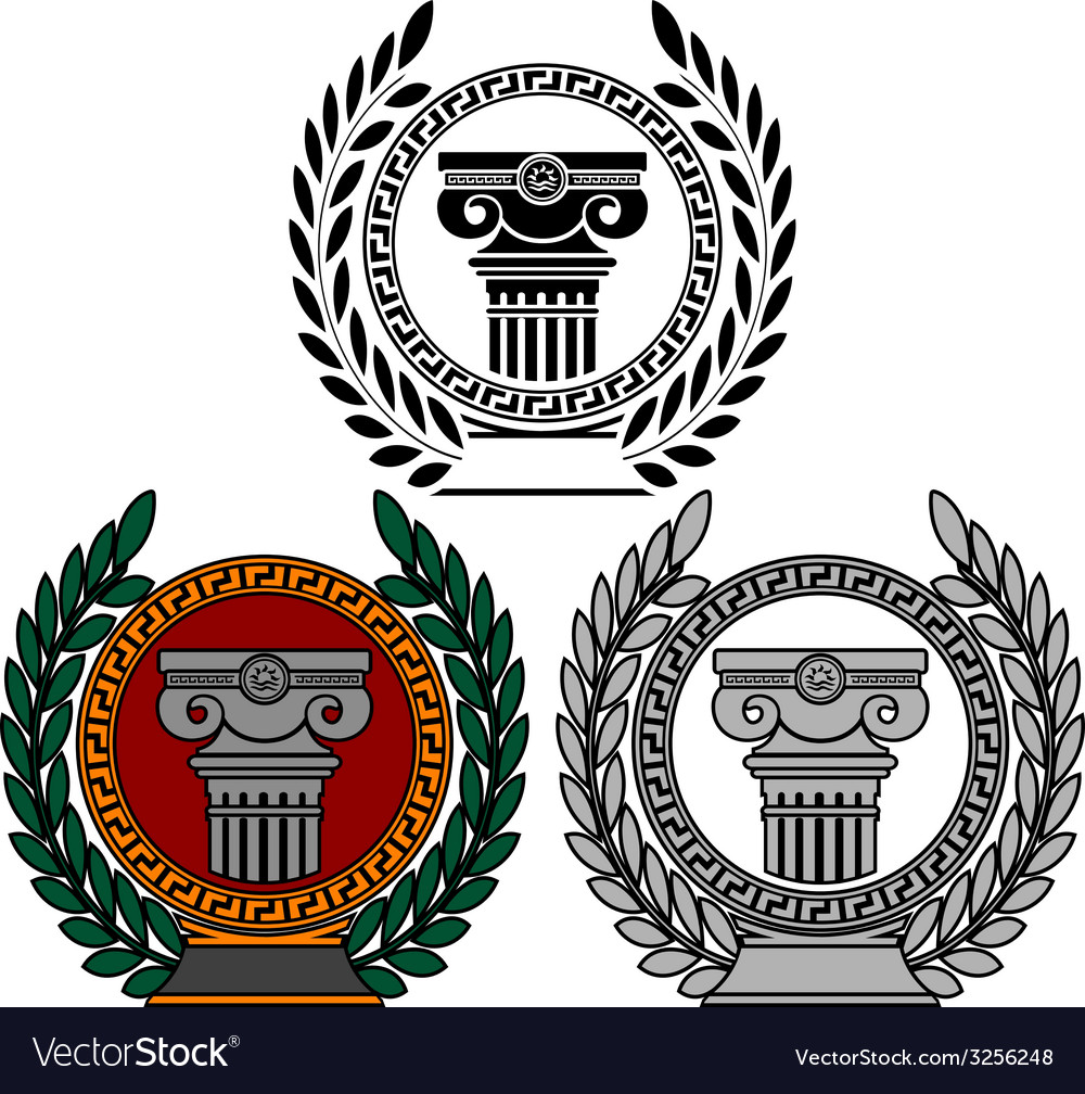 Glory of ancient art vector