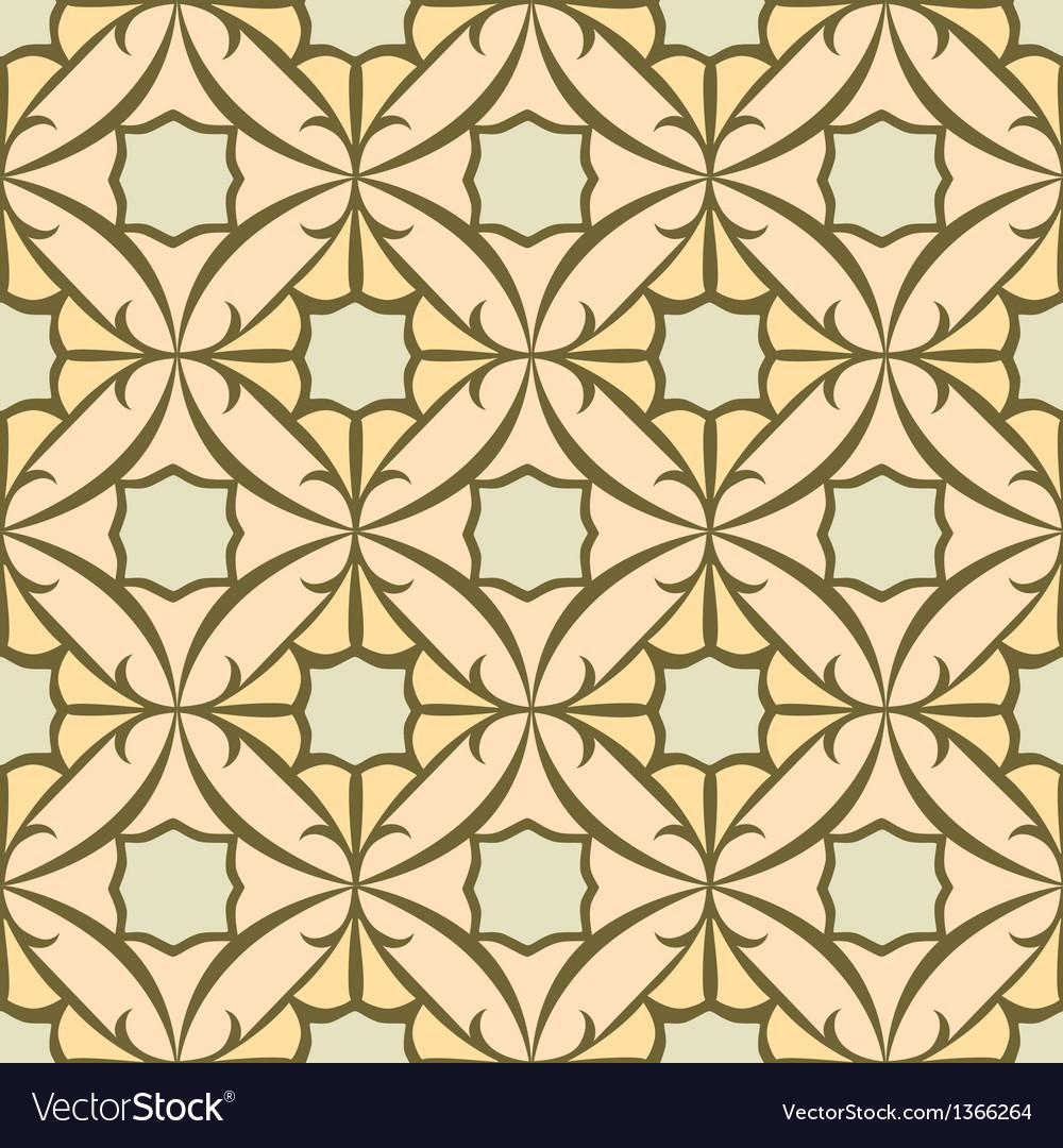 Seamless tile pattern vector