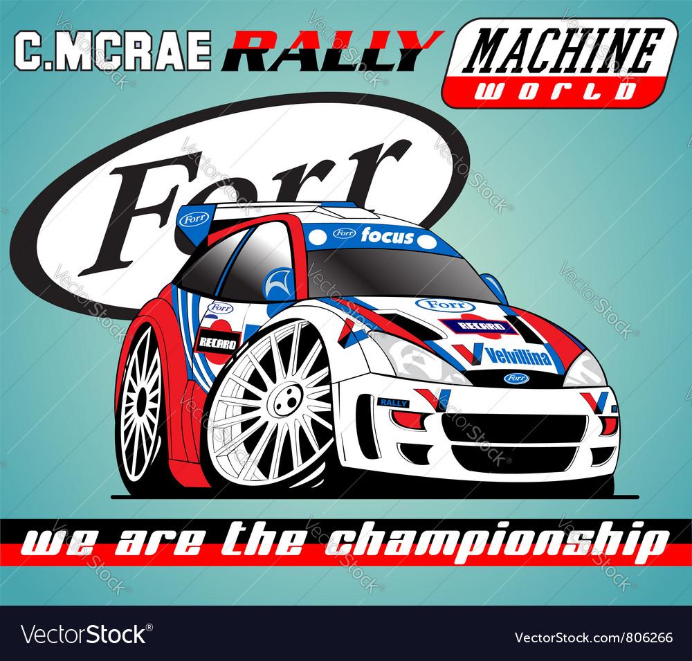 Racing club 2 vector