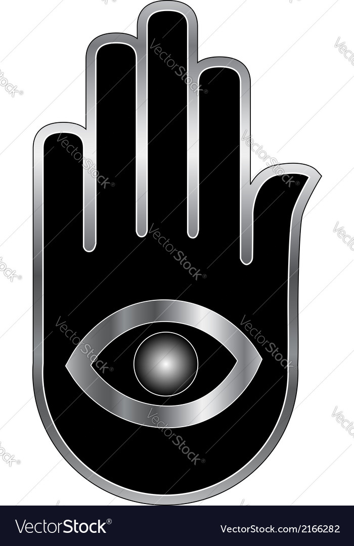 Logo for psychic or mind reader vector