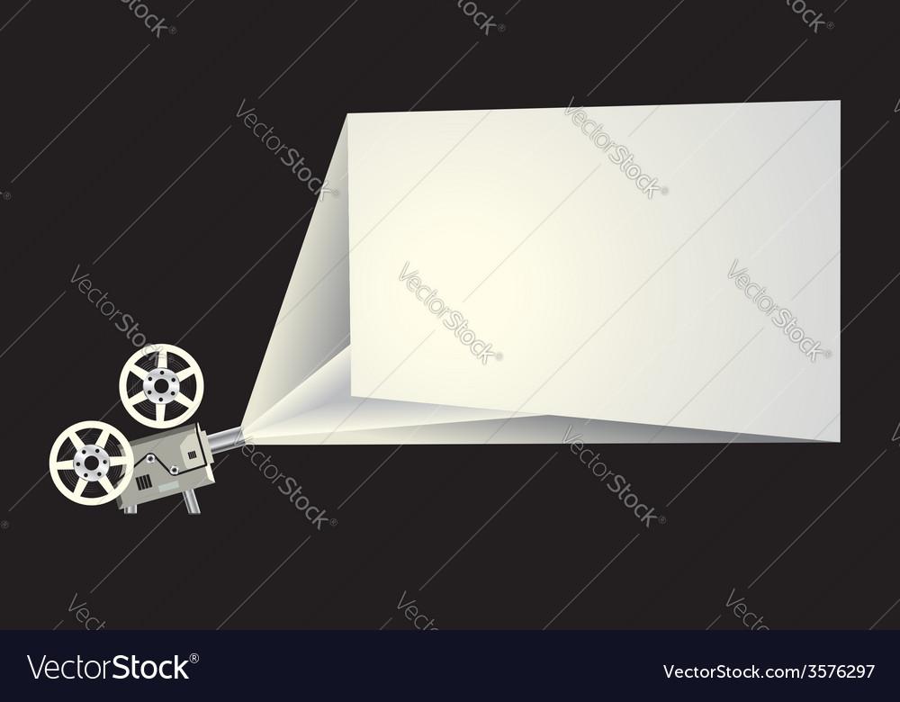 Cinema frame vector