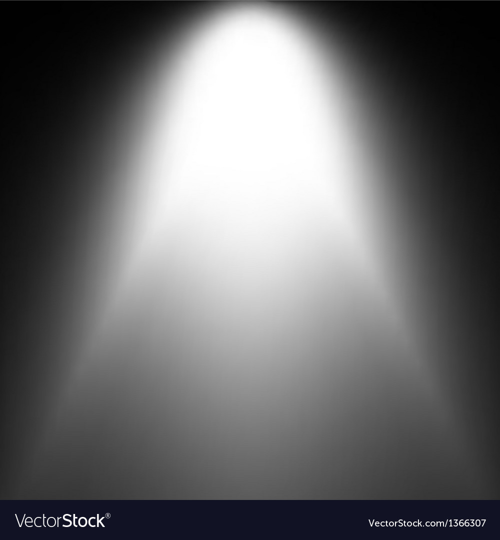 Shiny starburst of blue and white on black vector