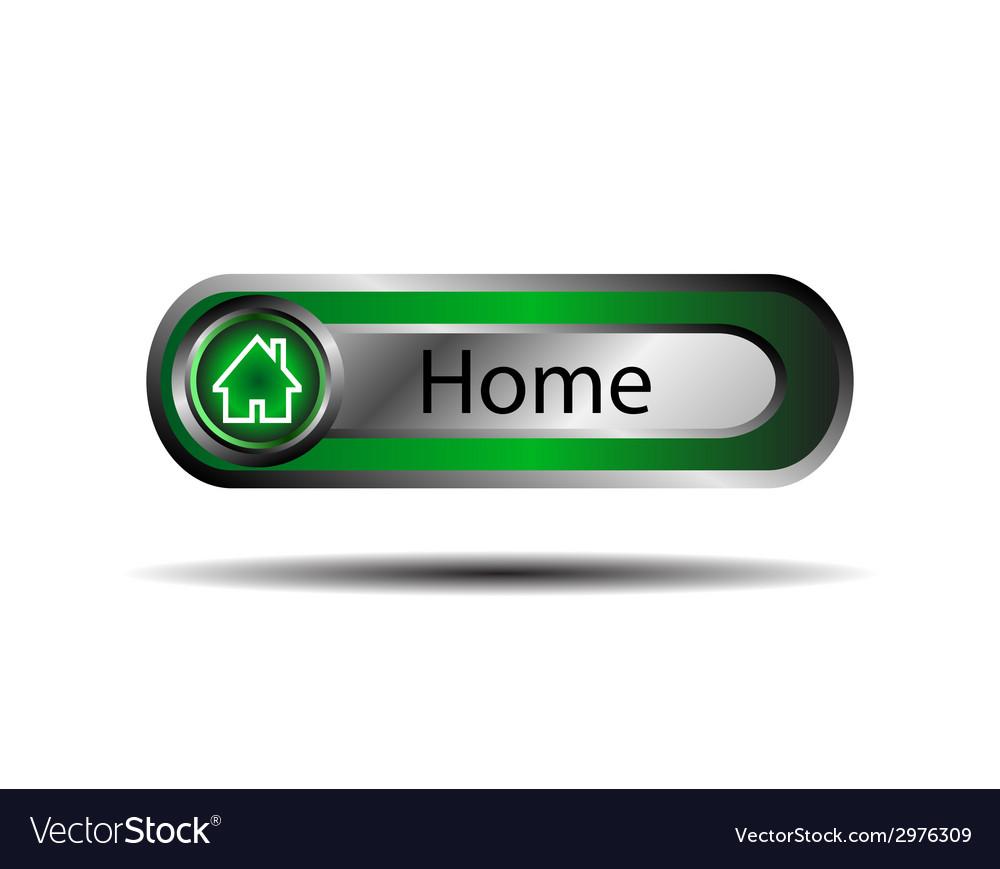 Home internet icon vector