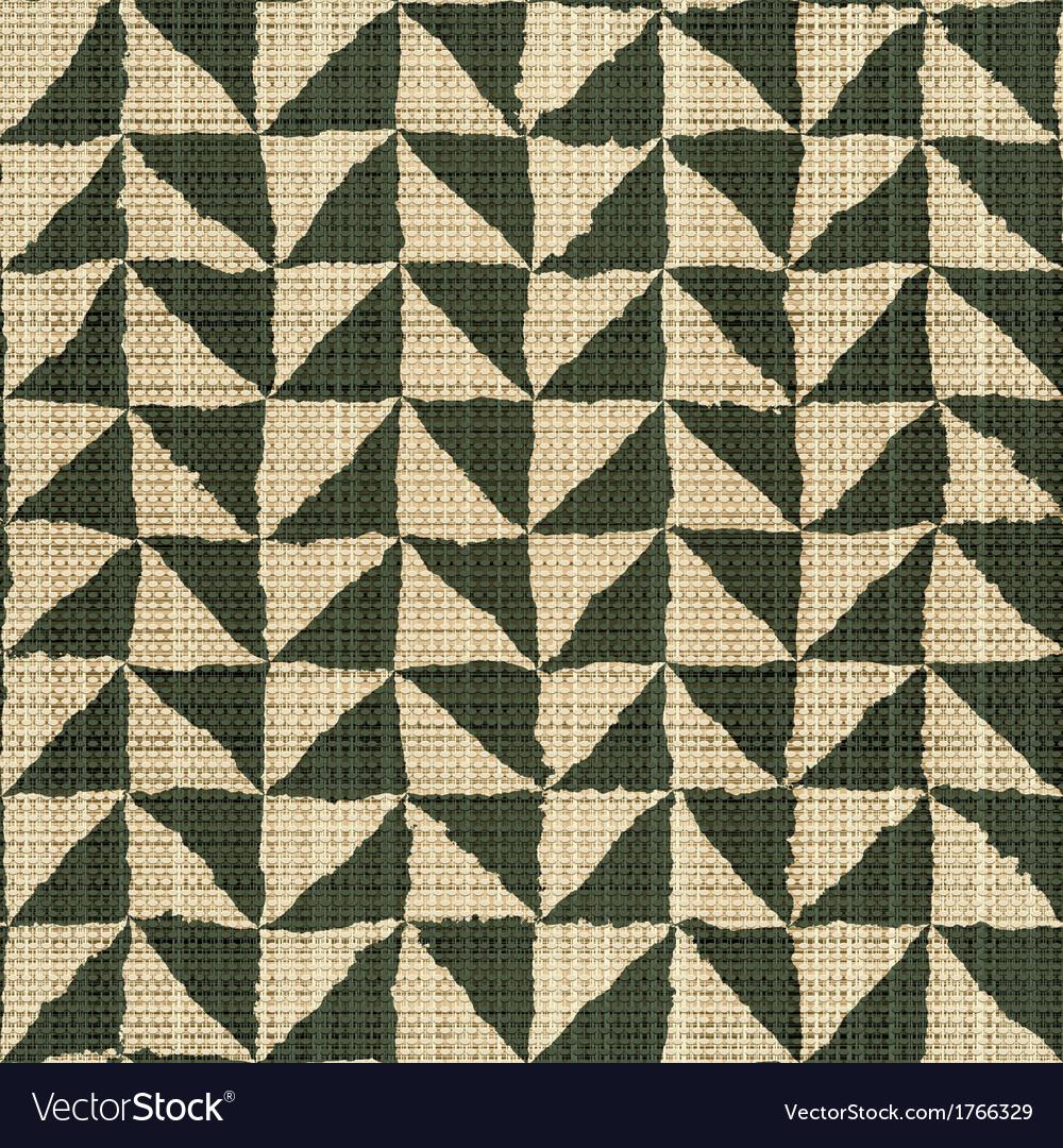 Rough edges textile print vector
