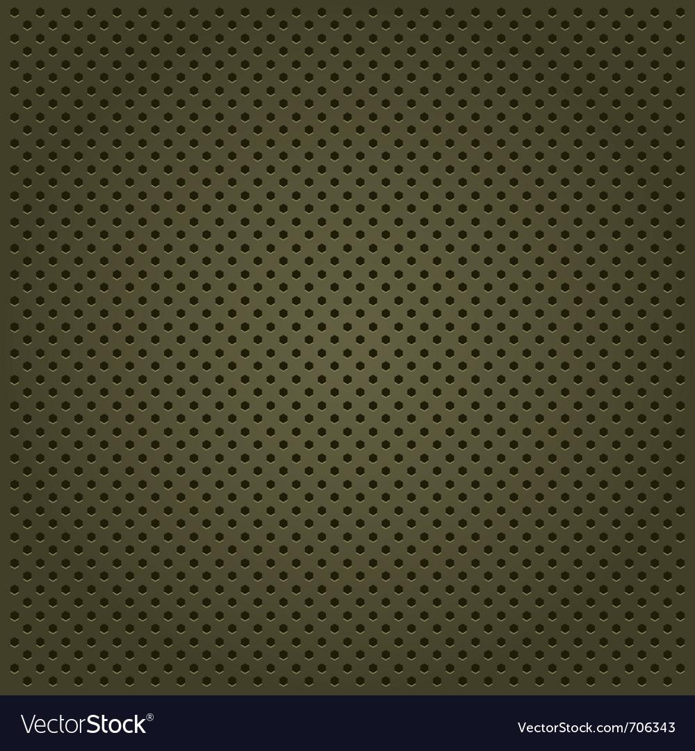 Template metallic background vector
