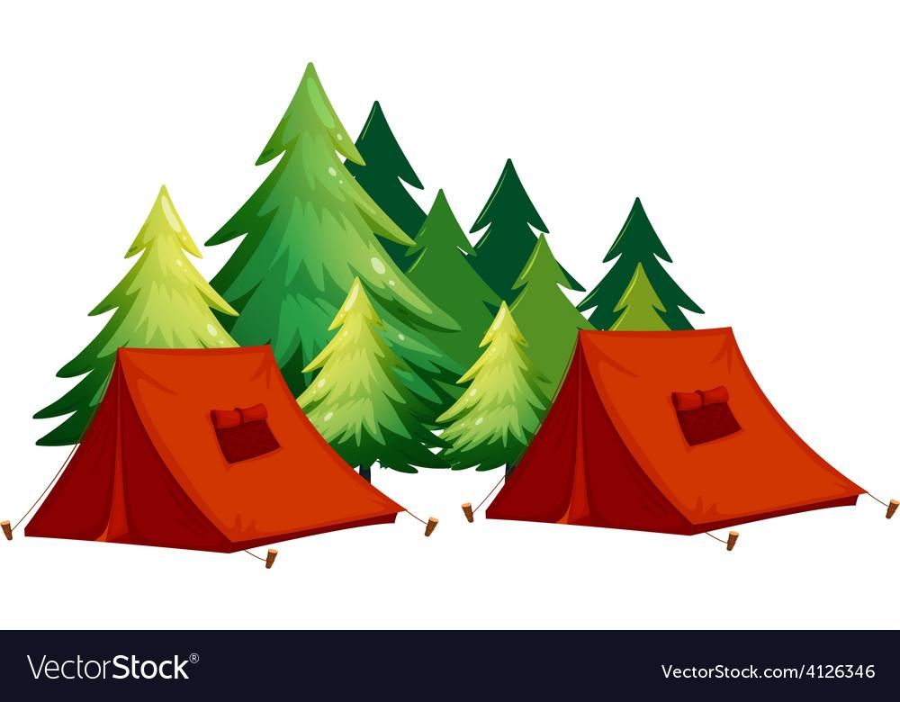 Tents vector
