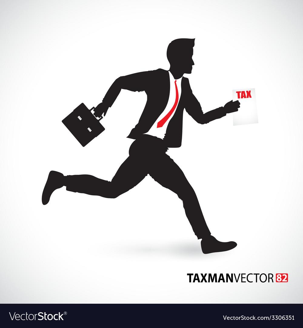 Side business runner vector
